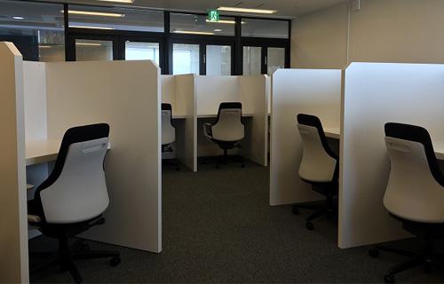 自由辦公桌(虛擬辦公室)示意圖