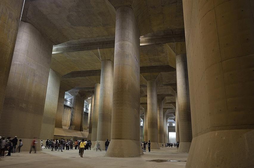 颱風哈吉貝暴雨 日本防洪地下神殿全面啟動